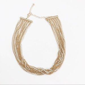ANTHROPOLOGIE l Beaded Collar Necklace